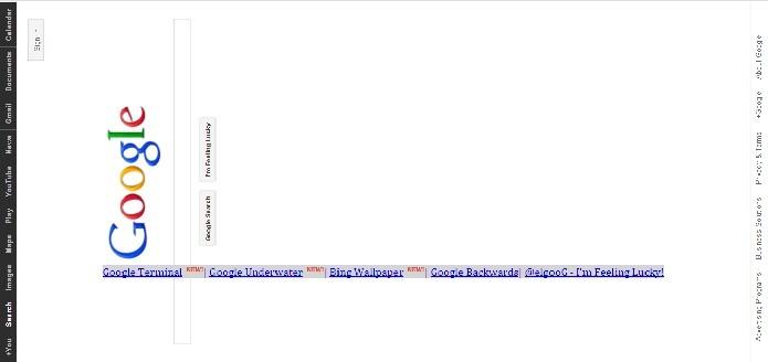 An upside down version of google google backwards google reverse