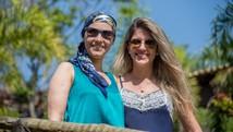Transplantada conhece doadora (Arquivo pessoal/Vivian Senna)