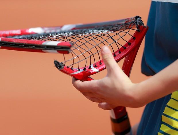 tênis raquete Stanislas Wawrinka roland garros (Foto: Agência Reuters)