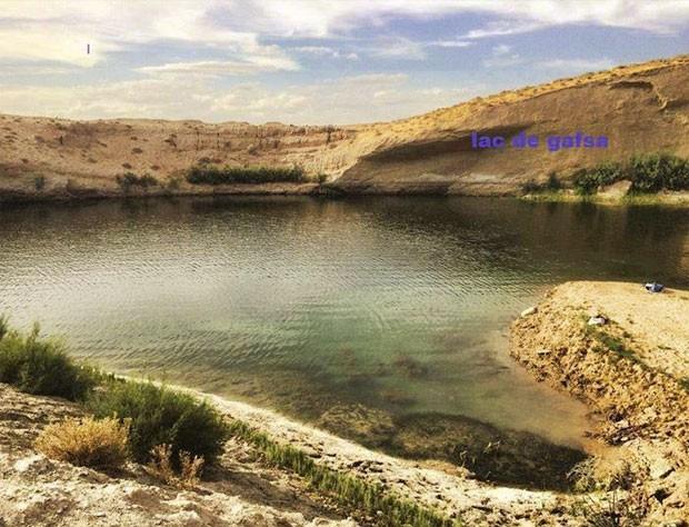 Atividade sísmica pode ter levado uma porção de água subterrânea a chegar à superfície (Foto: Reprodução/Facebook/LAC de GAFSA)