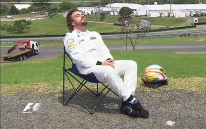 Fernando Alonso interlagos 2015 (Foto: ;)