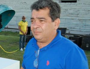 Amadeu Rodrigues, presidente da Federação Paraibana de Futebol (Foto: Silas Batista / GloboEsporte.com)