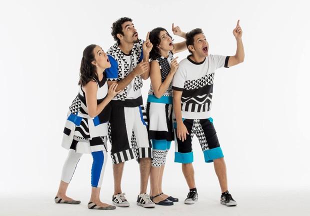 Músicos do Tiquequê vieram de famílias de artistas (Foto: Reprodução/Facebook)