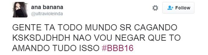 Ana Paula volta ao BBB16 - 09 (Foto: Reprodução Internet)