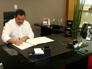 Marquinho Fiorella assumiu Prefeitura de Paulínia após cassação de Moura Jr (Foto: Silvio Motta / Prefeitura de Paulínia)