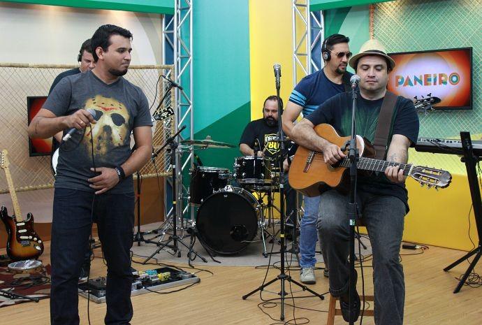 Paneiro misturou rock com samba (Foto: Katiúscia Monteiro/ Rede Amazônica)
