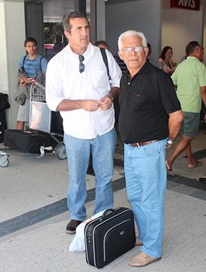 Moroni e Zé Lima, Parnahyba (Foto: Wenner Tito)