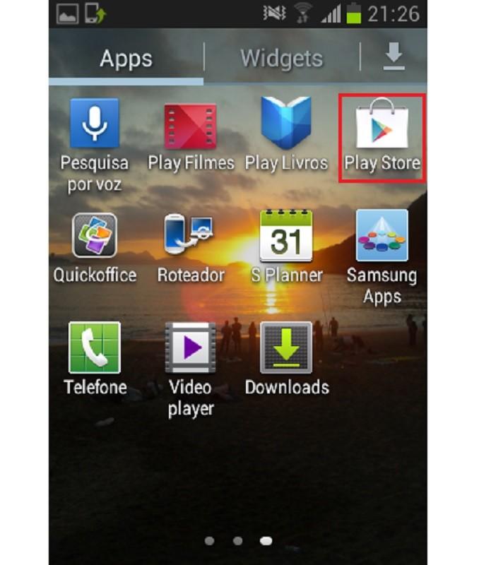 Abra o Google Play (Reprodução;