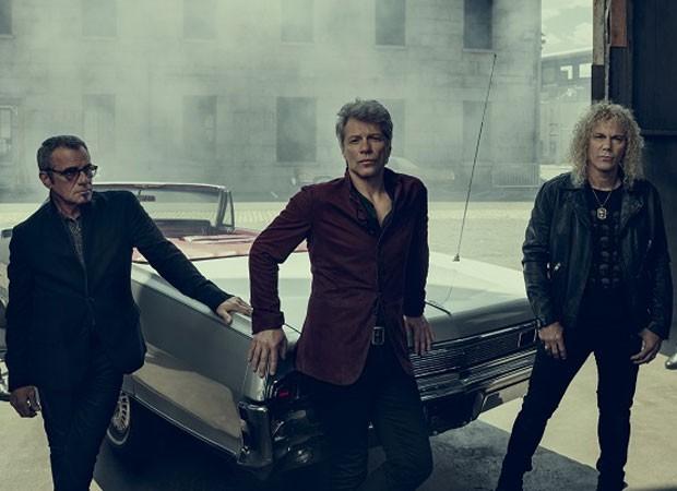 Tico Torres, Jon Bon Jovi e David Bryan (Foto: Reprodução)