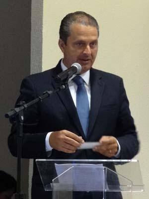 Eduardo Campos (Foto: Renan Holanda/G1)