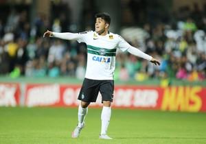 Coritiba Cruzeiro Rafhael Lucas (Foto: Giuliano Gomes/ Agência PRPRESS)