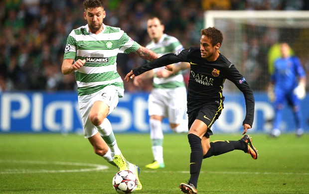Neymar Celtic e Barcelona (Foto: Getty Images)
