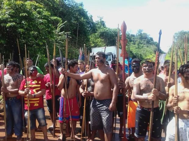 índios, BR, Amapá (Foto: Reprodução/Rede Amazônica no Amapá)