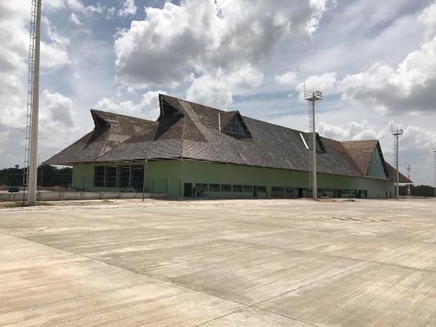 Aeroporto de Jericoacoara (Foto: TV Verdes Mares/Reprodução)