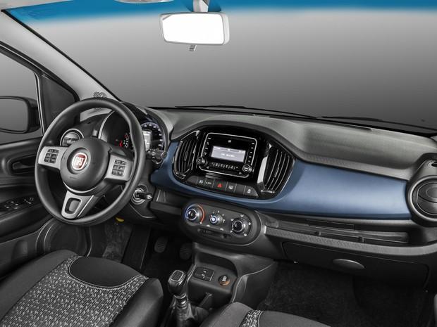 Fiat Uno Attractive 2017 (Foto: Divulgação)