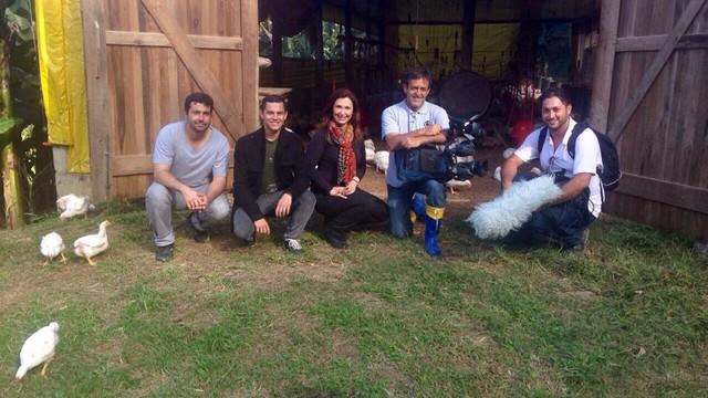 Produção será mostrada pela equipe da RBS TV  (Foto: RBS TV/Divulgação)