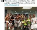 Sergio Ramos publica foto no vestiário com Cristiano Ronaldo de cueca