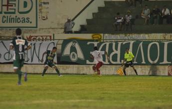 Com gol de Nadson, Lagarto vence Sergipe e sai da zona de rebaixamento