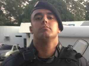 Soldado Bryan Schedegger Fontes morreu em um acidente em Iconha (Foto: Arquivo Pessoal)