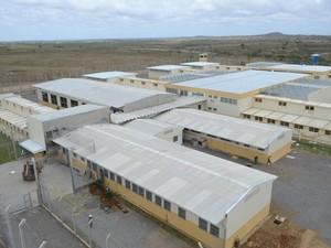 Presídio em Girau do Ponciano tem capacidade para 789 presos. (Foto: Divulgação/Agência Alagoas)