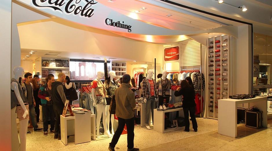 A Coca-cola deixou de ser uma marca de refrigerantes para expandir seus negócios (Foto: Divulgação)