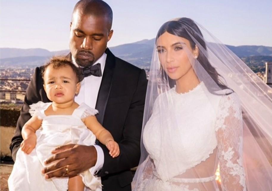"""A filha da socialite Kim Kardashian com o rapper Kanye West nasceu em junho de 2013 e se chama North West (em inglês, """"noroeste""""). (Foto: Instagram)"""