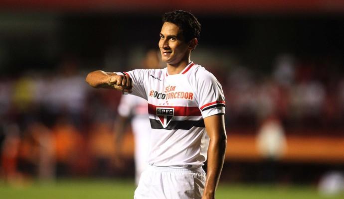 São Paulo x San Lorenzo - Ganso (Foto: Marcos Ribolli)