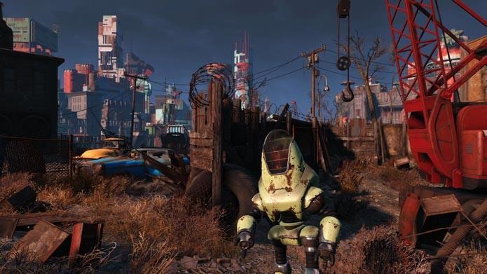 Fallout 4 dá liberdade para o jogador escolher e explorar (Foto: Divulgação/Steam)