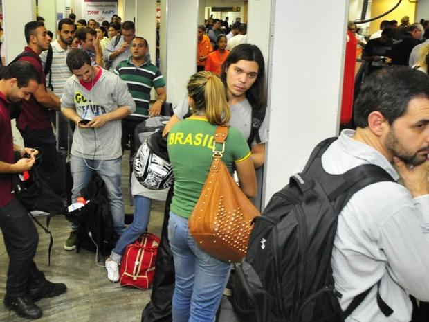 Oferta de voos no país vai cair ainda mais a partir de maio (Foto: Guilherme Ferrari/ A Gazeta)