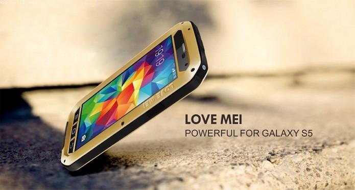 Powerful case para Galaxy S5 (Foto: Divulgação/Love Mai)