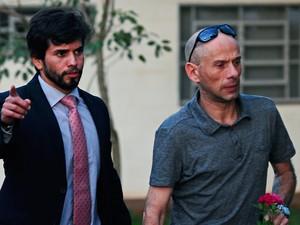 Rafael Ilha liberado (Foto: Marcos Labanca/Agência de notícias Gazeta do Povo/Estadão Conteúdo)