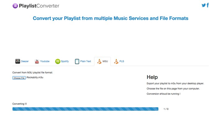 Playlist Converter: leve qualquer playlist de música para