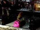 Jovem de 21 anos é presa com 10 quilos de droga em ônibus na Dutra