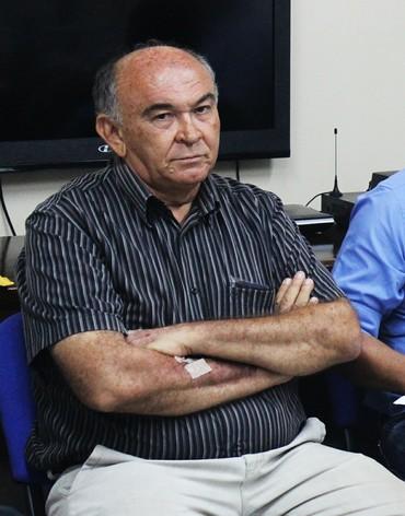 Francisco Ispo, presidente do Caiçara  (Foto: Josiel Martins)