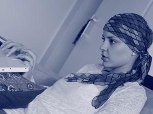 Heloísa Orsolini criou o blog logo depois de descobrir o câncer (Foto: Heloísa Orsolini/arquivo pessoal)