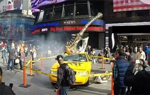 Expansão de 'World of Warcraft' fez campanha na Times Square em Nova York (Foto: Divulgação/Blizzard)