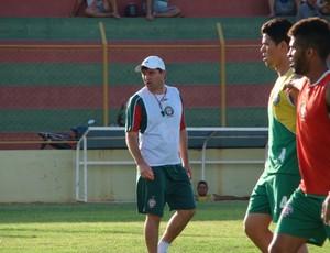 Gilberto Gaúcho, técnico do Santa Cruz-RN (Foto: Alex Santos/Divulgação)