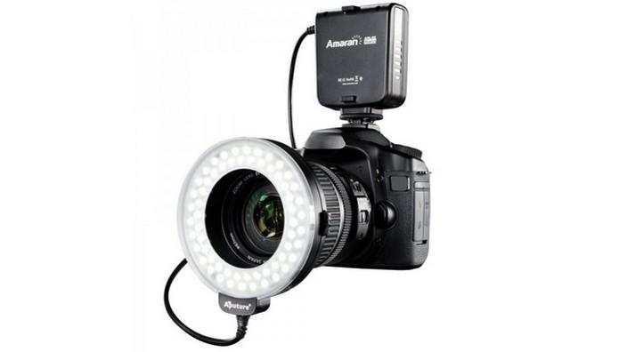 Flash externo anelar é indicado para fotografia macro (Foto: Divulgação/Amaran) (Foto: Flash externo anelar é indicado para fotografia macro (Foto: Divulgação/Amaran))