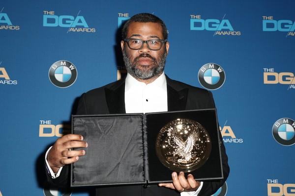 Jordan Peele recebeu o prêmio de melhor diretor estreante por 'Corra' (Foto: Getty Images)