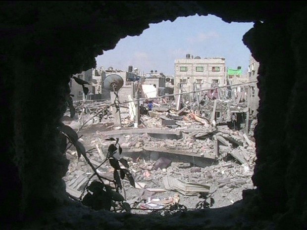 GNews - Faixa de Gaza (Foto: globonews)