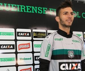 júnior oliveira goleiro figueirense (Foto: Luiz Henrique / FFC)