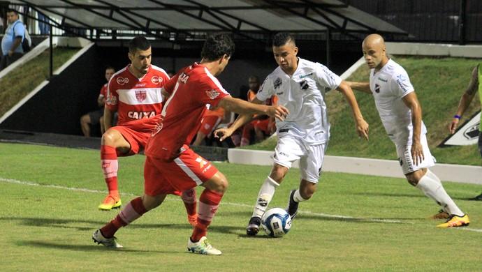ABC x CRB (Foto: Fabiano de Oliveira/GloboEsporte.com)