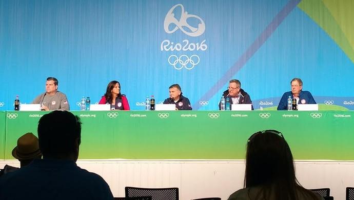 """Membros do Comitê Olímpico dos EUA falam sobre questão do doping: """"É problema global"""" (Foto: Juscelino Filho)"""