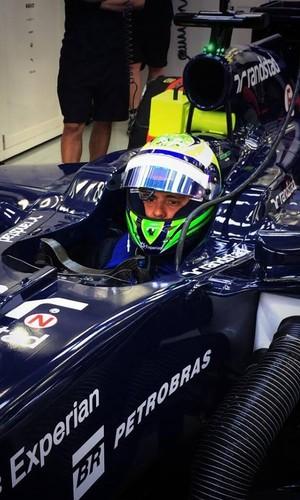 Felipe Massa Bahrein Williams (Foto: Reprodução / Facebook)