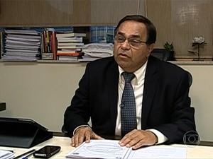Desembargador Siro Darlan diz que não conseguiu acesso a inquérito sobre atos violentos no Rio (Foto: Reprodução/TV Globo)