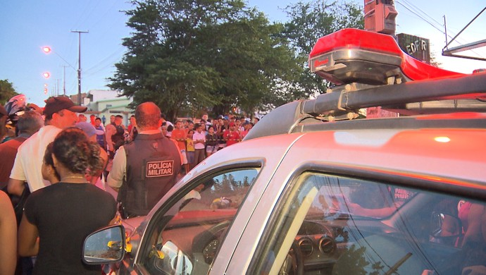 Assassinato torcedor do Treze (Foto: Reprodução / TV Paraíba)