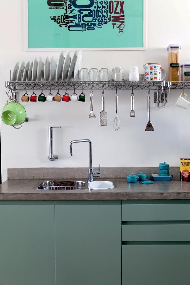 Marcel Steiner; cozinha (Foto: Lufe Gomes/Editora Globo)