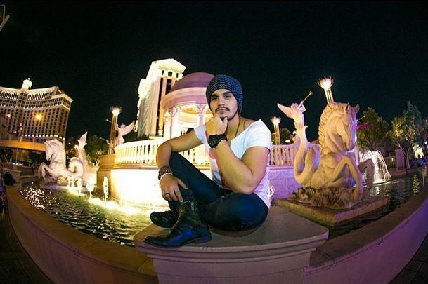 Luan Santana em Las Vegas (Foto: Instagram/Reprodução)