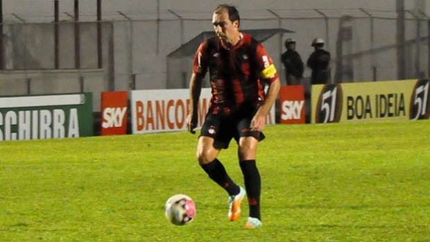 Paulo Baier, meia do Atlético-PR (Foto: Divulgação/Site oficial do Atlético-PR)