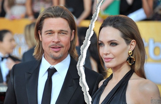 Brad Pitt e Angelina Jolie (Foto: Getty Images)